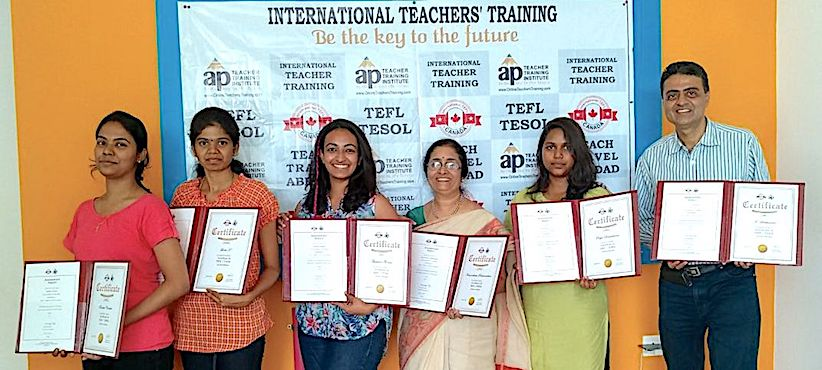 120 hours classroom tesol / tefl certification in chennai, india