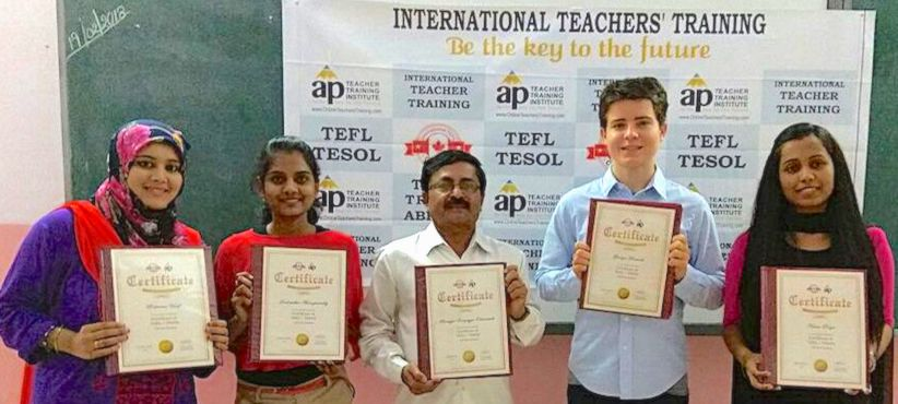 120 hours classroom tesol / tefl certification in hyderabad, india